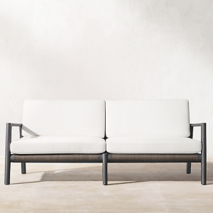 Mesa Aluminum Sofa available in 72 and 90in