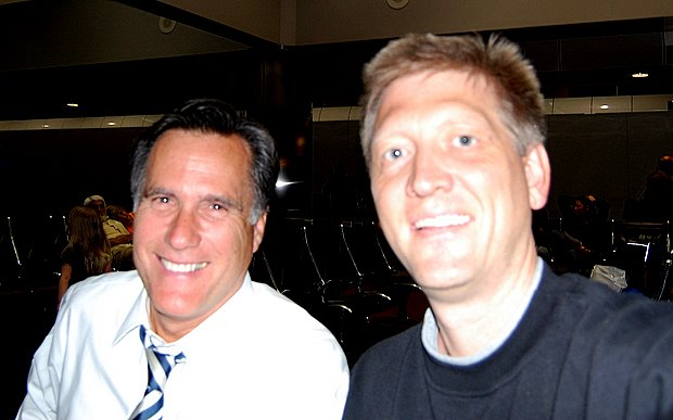 With 2008 Presidential Hopeful Mitt Romney