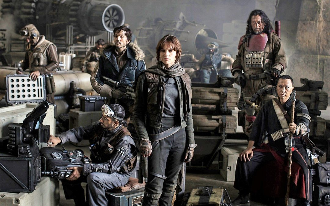 We're cheering for Rogue One but we're really on the Empire's side