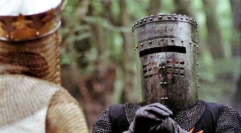 Tis Merely a Flesh Wound: when Social Justice Warriors feel like the Black Knight