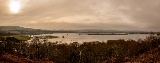 The flooded Amberley Wild Brooks From Rackham