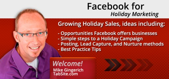 mike holiday806 Grow Holiday Sales with Facebook Marketing Campaigns