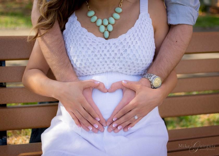 Ana & Ryan – Cherry Blossom Maternity