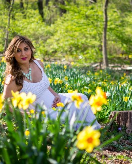 Sneak Peek: Ana and Ryan – Cherry Blossom Maternity