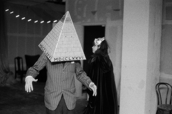 Illuminati Ball in Reno, Nevada. Photo by Mike Higdon