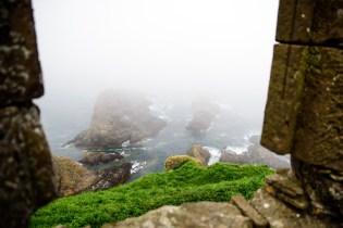 Beware the rocks below