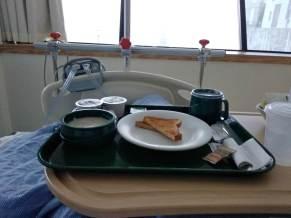 еда в госпитале