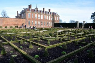 The Parterre from the southwest