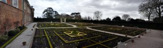 The Parterre looking southeast