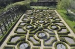 The knot garden at Moseley Old Hall