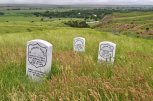 Where they fell at the Little Bighorn
