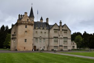 Brodie Castle, in north-east Scotland