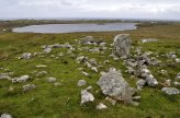 Looking west towards Loch an Duin, Siadar and the Atlantic, from Steinacleit, Lewis