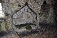 One of the finest tombs in Scotland, of Alasdair Crotach MacLeod, 8th Clan Chief of the MacLeods.