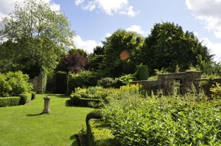 The walled garden, looking east from the house [7].