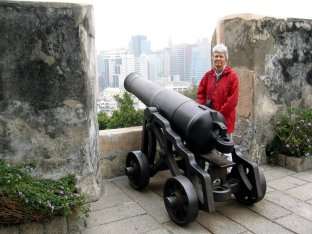 At the Monte Fort.