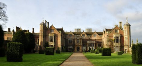The main entrance of Charlecote Park house (4).