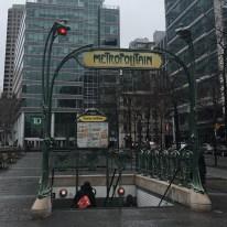 Subway entrance, Montreal