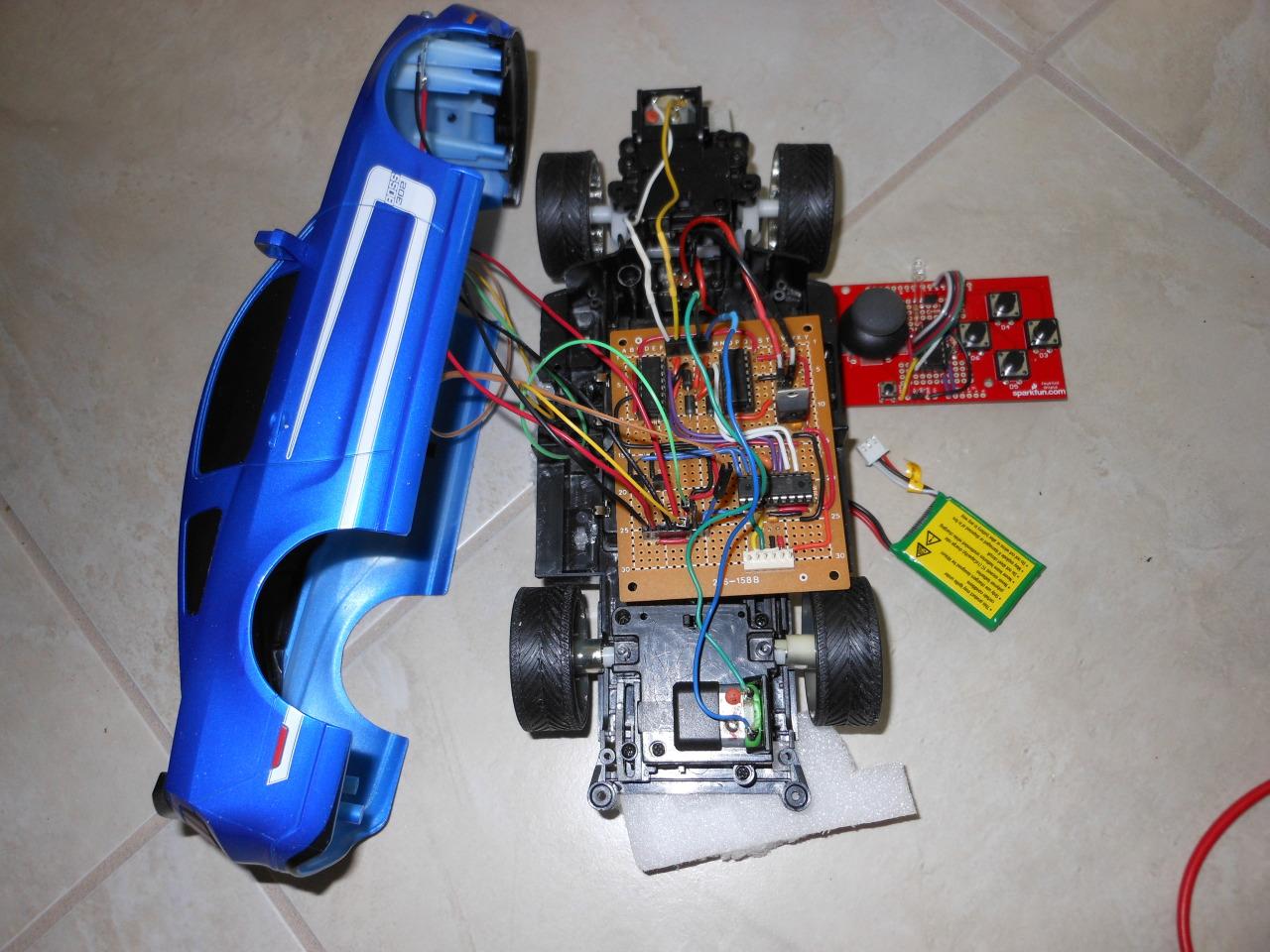 Ir Toy Car Dspic