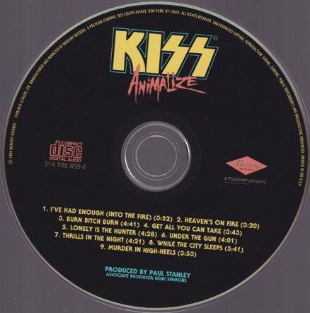 ANIMALIZE CD