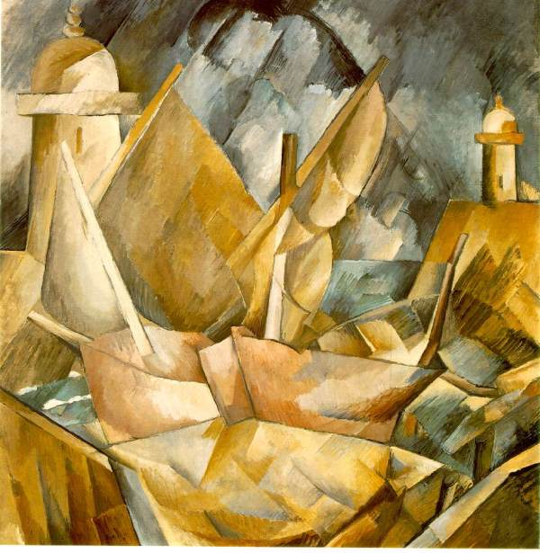 Harbor in Normandy by Georges Braque