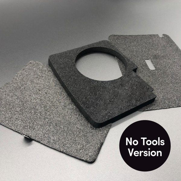 No Tools version of DeLorean Bonnet and Luggage Compartment Set