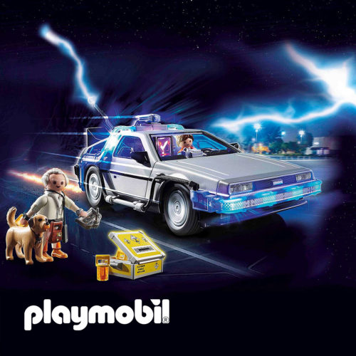 Playmobil DeLorean with accessories
