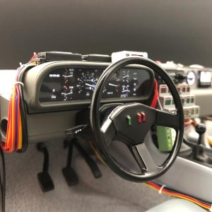 Instrument Panel Dash in 1:8 Eaglemoss DeLorean