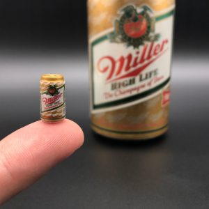 Miniature beer can from Mr Fusion Fuel mod by Mike Lane