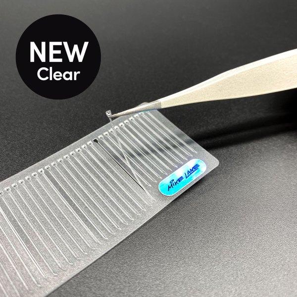 Peeling clear mini cable tie mod