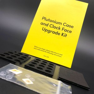 Eaglemoss DeLorean Plutonium Case and Clock Face Upgrade Kit mod