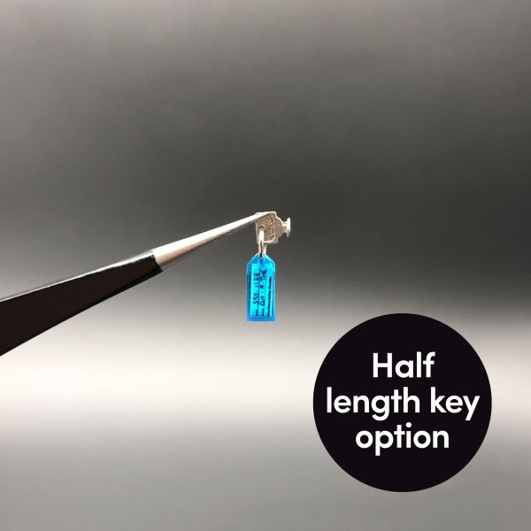 Half length key option from Metal Keys and Key Tag mod