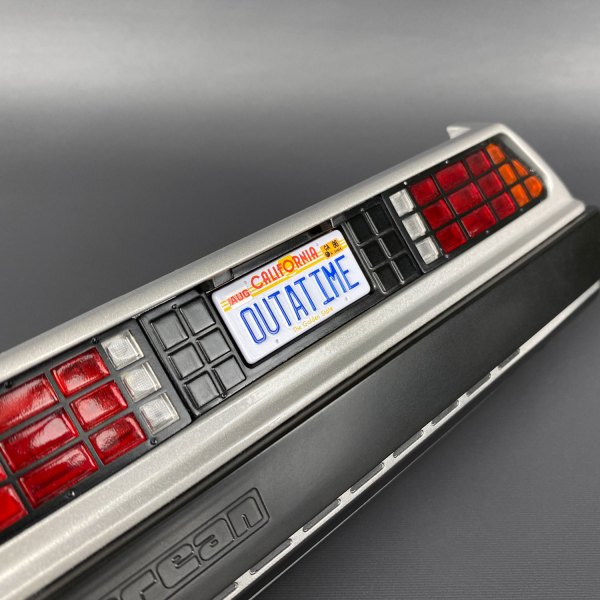 OUTATIME Die-cast Licence Plate for Eaglemoss DeLorean