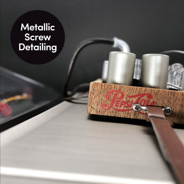 DeLorean Hood Box Upgrade Kit mod's metallic screw detailing