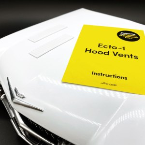 Instructions for Ecto-1 Hood Vents mod