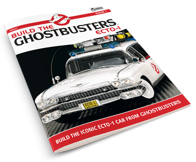 Cover of Build the Ghostbusters Ecto-1 magazine Issue 1