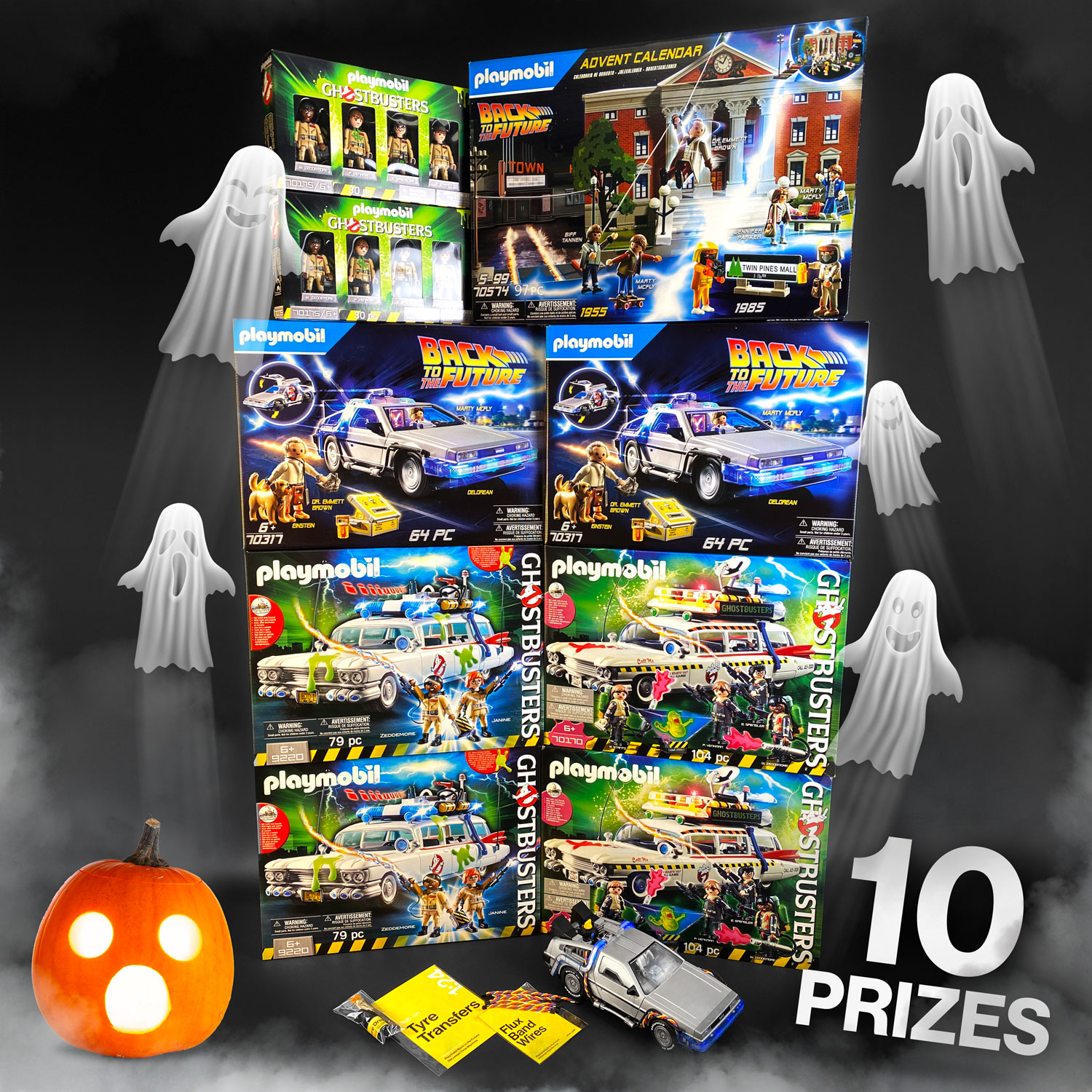10 prizes for Mike Lane Mods Halloween competition