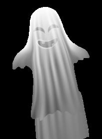 Cartoon Halloween ghost