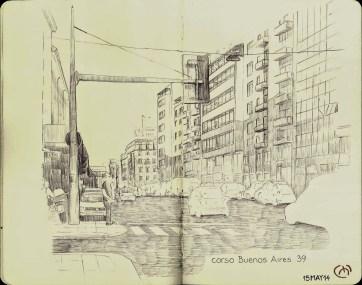 Corso Buenos Aires. Milan. Bic