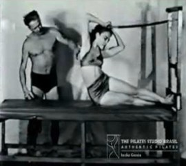 Angela Crowley's pilates instructor Romana Kryzanowska
