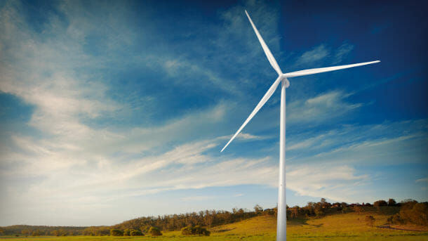 Carbon offsets from projects like building wind turbines, can reduce your carbon footprint.