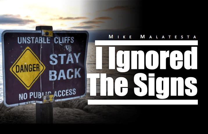 I Want This Deal Too Badly - Mike Malatesta Blog