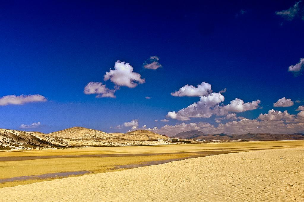 Fuerteventura - najbardziej plażingowa z wysp