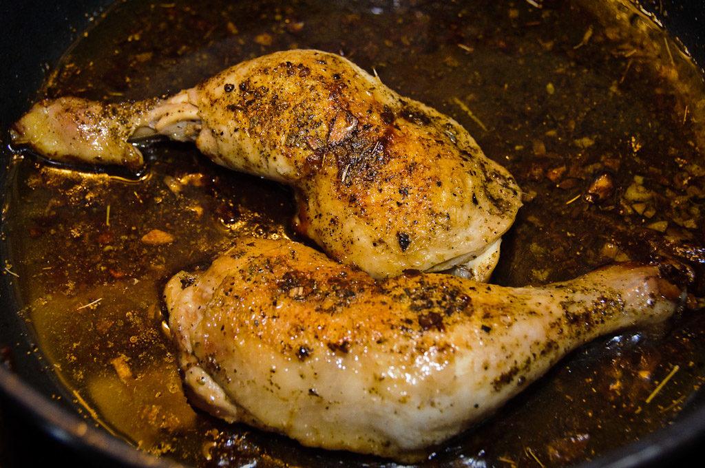 Uduszony kurczak ;)