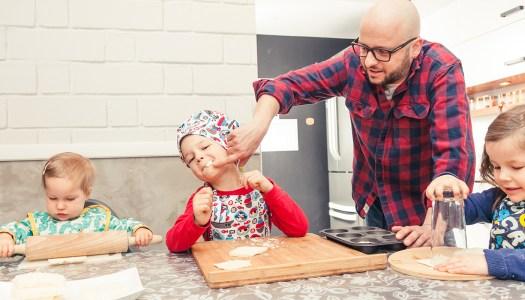 Gotowanie z trójką dzieciaków? Da radę :)