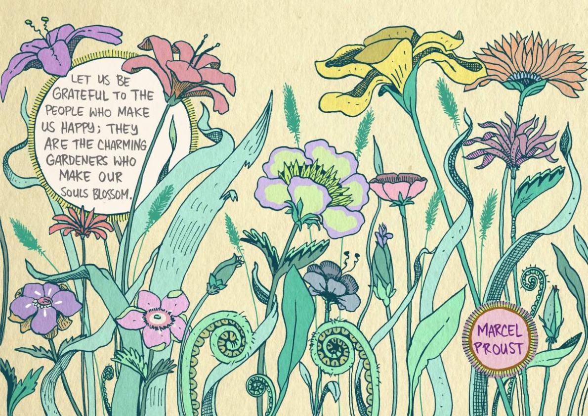 Proust - let us be grateful