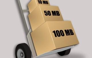 Πώς στέλνω μεγάλα αρχεία;