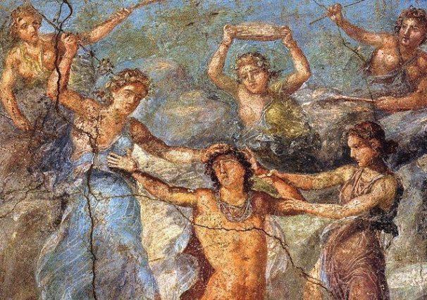 640px-Pompeii_-_Casa_dei_Vettii_-_Pentheus-e1440706967965