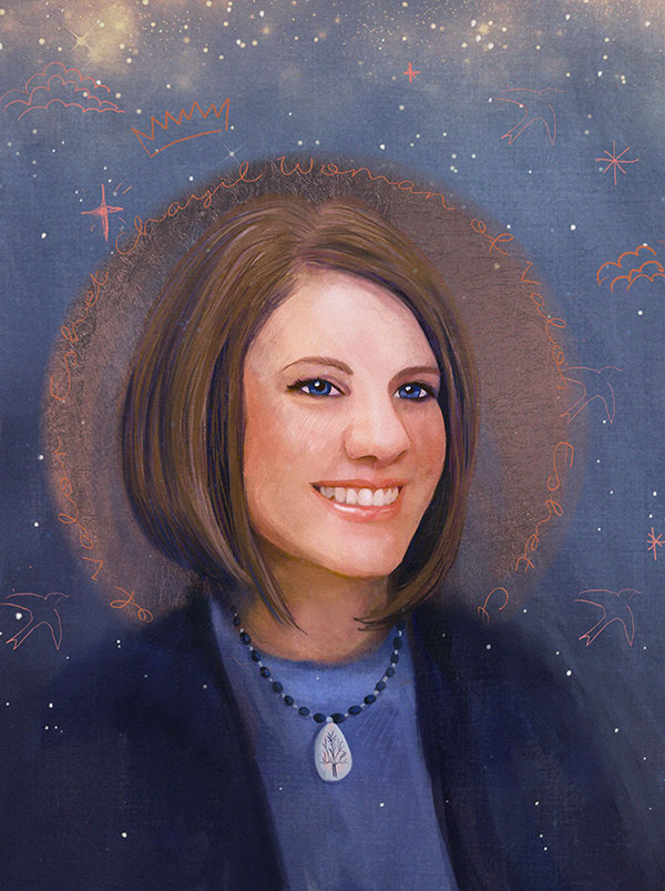 Rachel Held Evans Portrait