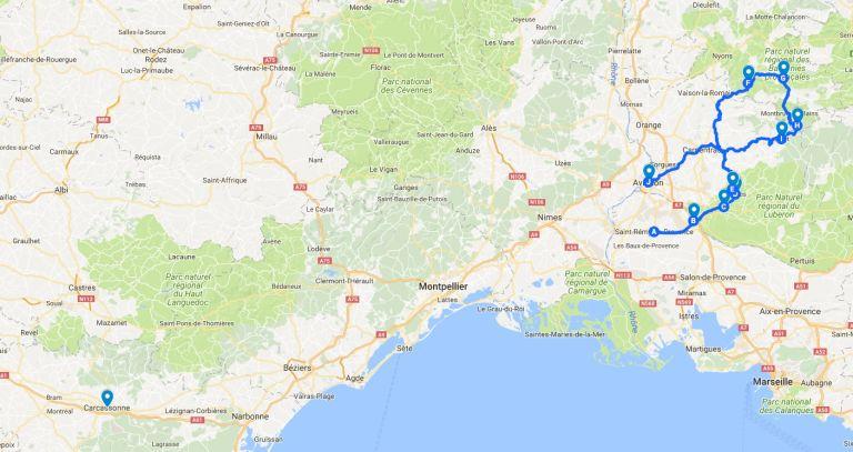 Provence map MAIN